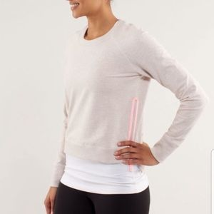 Lululemon Rejuvenate pullover sweatshirt side zip